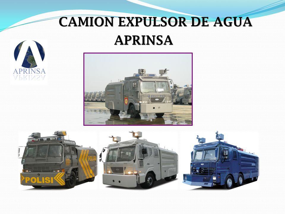 Characteristic of Daeji Water Cannon 13.Protector de tanque de gasolina (opcional) 14.
