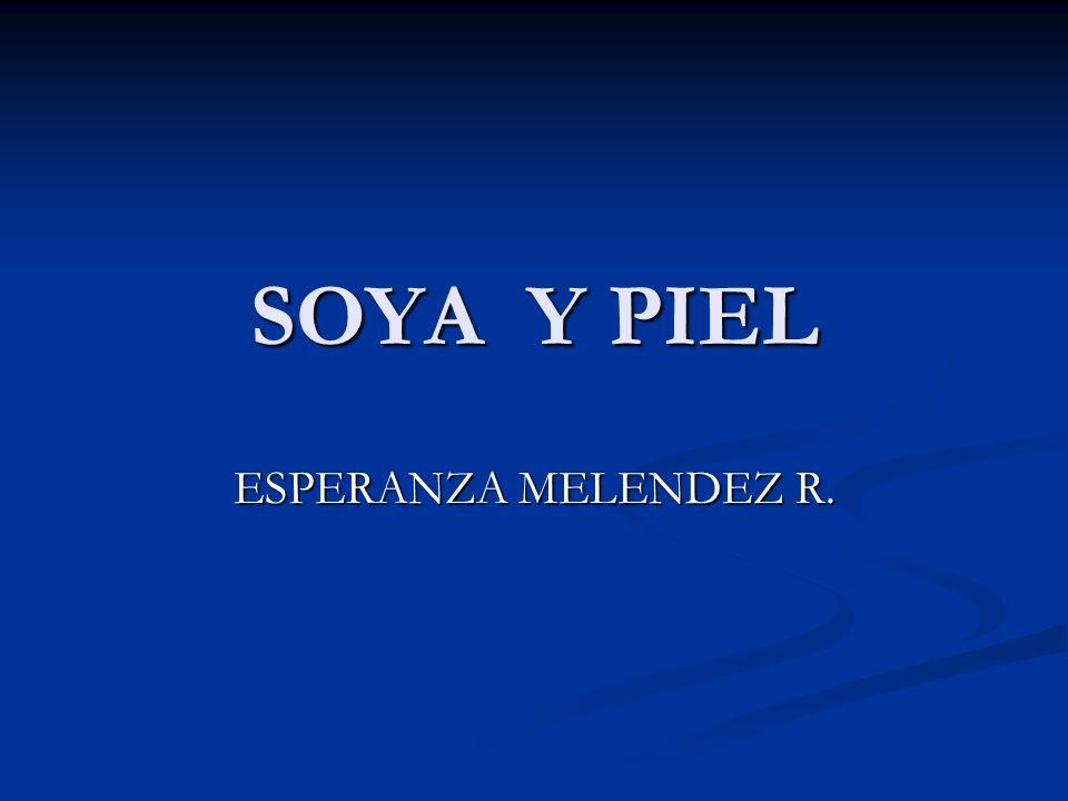 SOYA Y PIEL ESPERANZA MELENDEZ R.