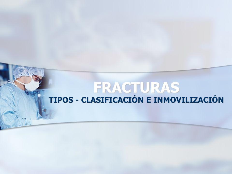 CLASIFICACIÓN AO (Asociación para el estudio de la Osteosíntesis)