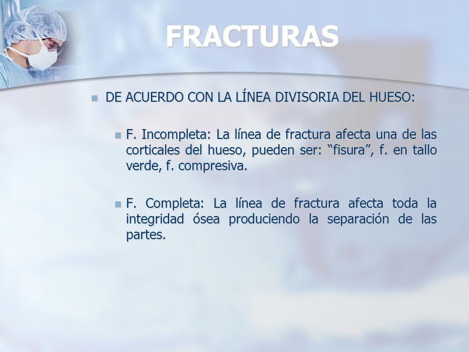 FRACTURAS CLASIFICACIÓN CLASIFICACIÓNAO