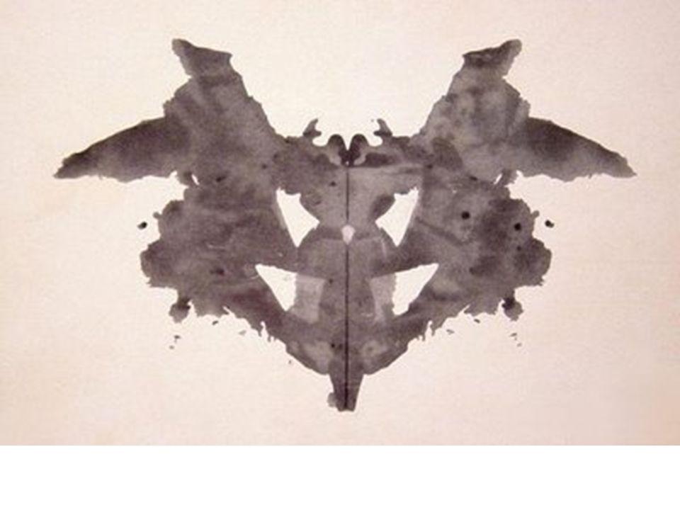 Lámina 1 Buenas respuestas: –Palos –Mariposas –Polillas –Figura femenina (leve paranoia) –Máscara (leve paranoia) –Cara de gallo o gallina (leve paranoia) Malas respuestas: –Juzgar una figura femenina –Evitar mencionar que se ven dos pechos sin cabeza