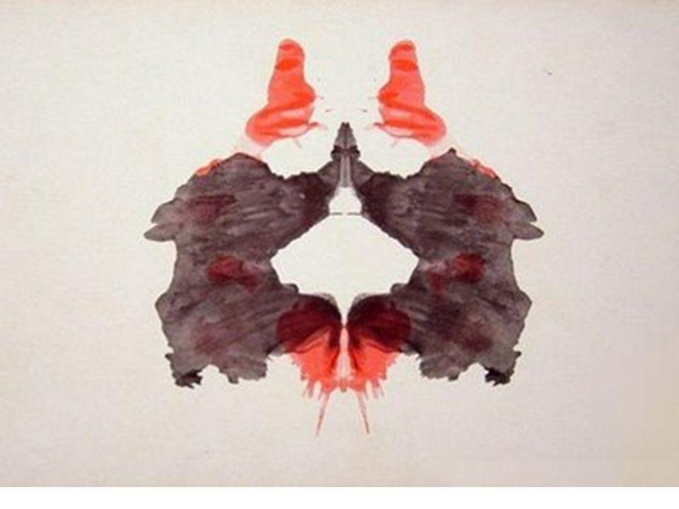 Lámina 2 Buena respuesta: –Dos figuras humanas femeninas –Entrada a una cueva –Mariposa Mala respuesta: –Dos figuras humanas masculina (sinónimo de apuro) –Imágenes sexuales (esquizofrenia)