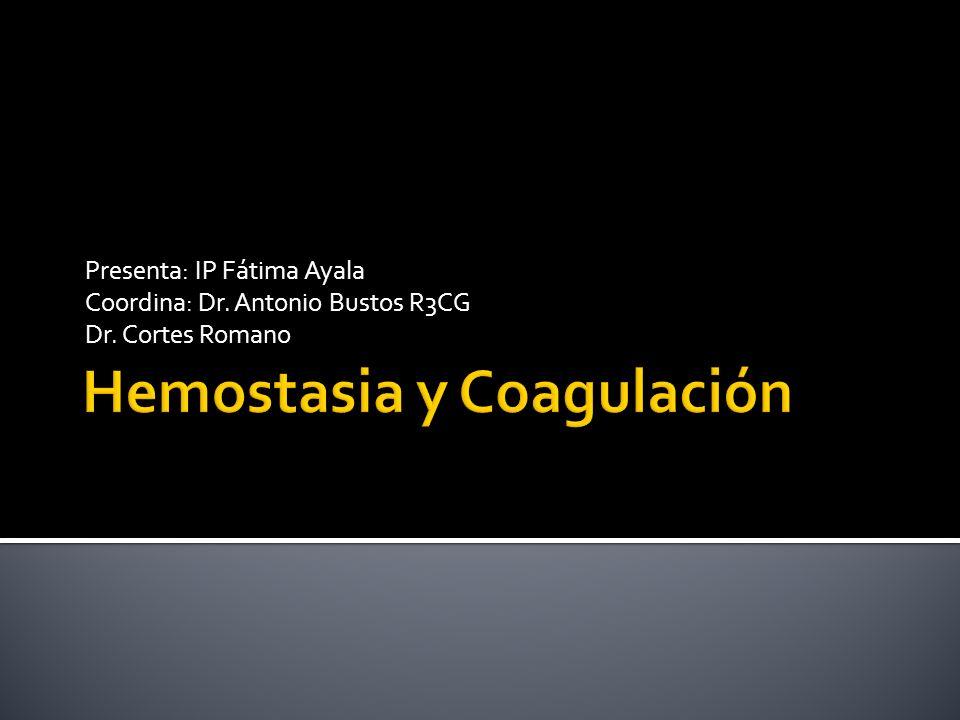 Presenta: IP Fátima Ayala Coordina: Dr. Antonio Bustos R3CG Dr. Cortes Romano