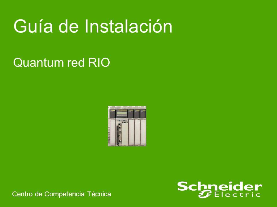 Schneider Electric 22 Centro Competencia Técnica- Pere Sole – 04.2009 Rev 1 5.7 Configuraciones coaxial no permitidas
