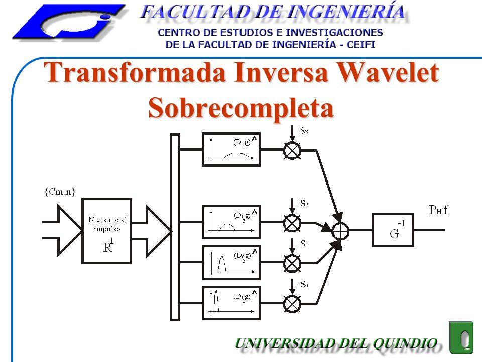 Transformada Inversa Wavelet Sobrecompleta