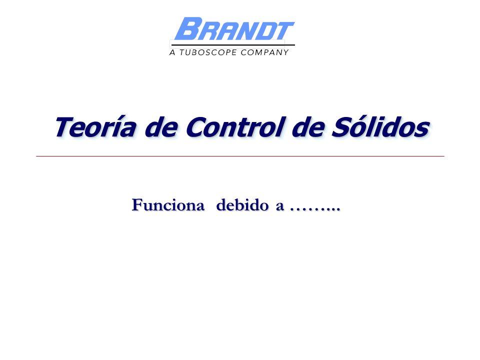 Teoría de Control de Sólidos Funciona debido a ……...