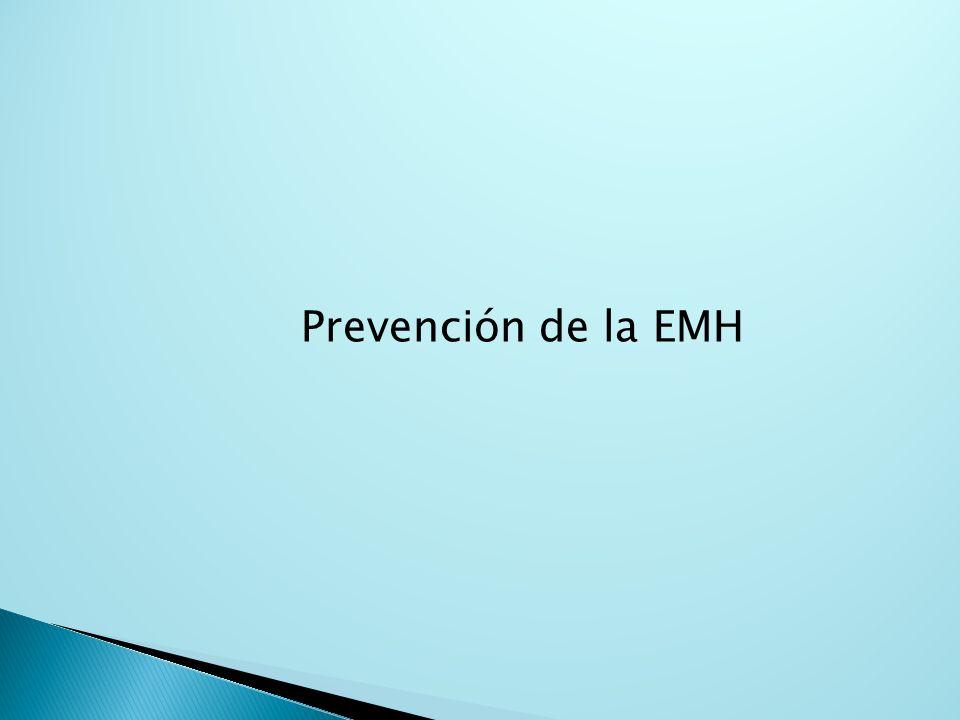 Prevención de la EMH