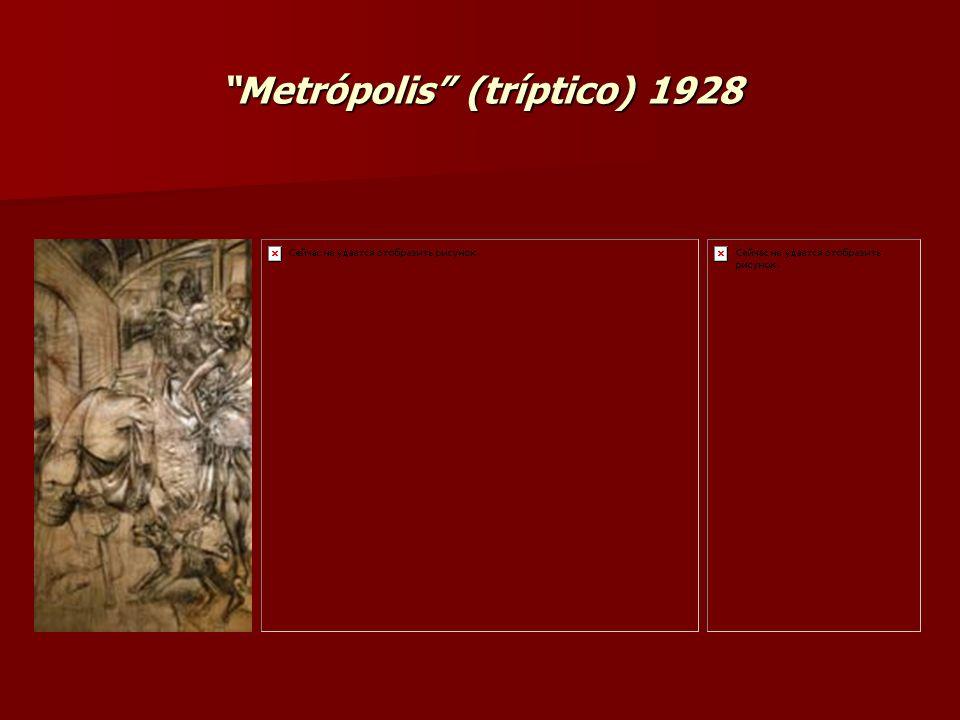 Metrópolis (tríptico) 1928