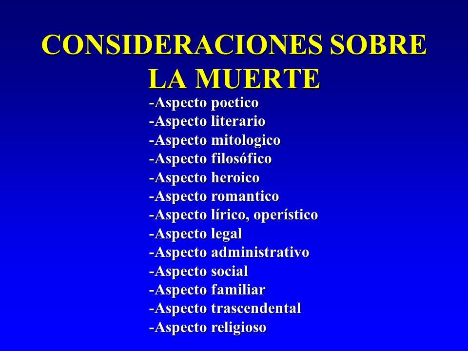 MUERTE * PROCESO DESADAPTATIVO, BIOQUÍMICO Y BIOFÍSICO, CATABÓLICO CON TENDENCIA A LA ENTROPIA MÁXIMA, POIQUILOTERMIA TOTAL Y LA ALTERACIÓN DE MECANISMOS HOMEOSTÁTICOS; CON DESTRUCCIÓN DE LAS BOMBAS DE Na Y DE Ca DE LA MEMBRANA, CON AUSENCIA DE SÍNTESIS DE ATP ; TODO ELLO RELACIONA- DO CON LA IRRUPCIÓN BRUSCA DE IONES CALCIO EN LAS CRESTAS MITOCONDRIALES