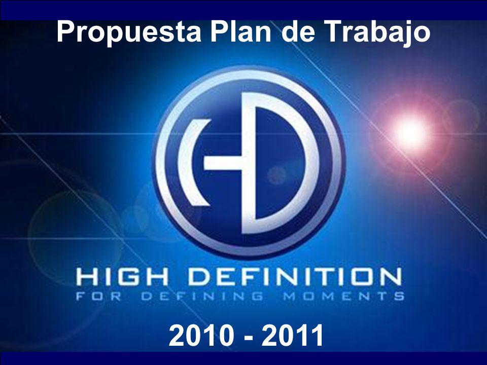 Propuesta Plan de Trabajo 2010 - 2011
