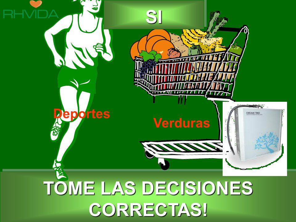 Copyright © RHVIDA S/C Ltda. www.rhvida.com.br TOME LAS DECISIONES CORRECTAS! SISI Deportes Verduras