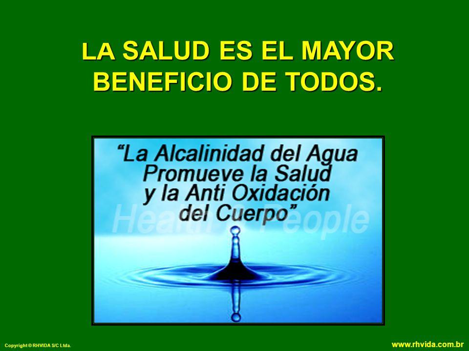 Copyright © RHVIDA S/C Ltda. www.rhvida.com.br LA SALUD ES EL MAYOR BENEFICIO DE TODOS.