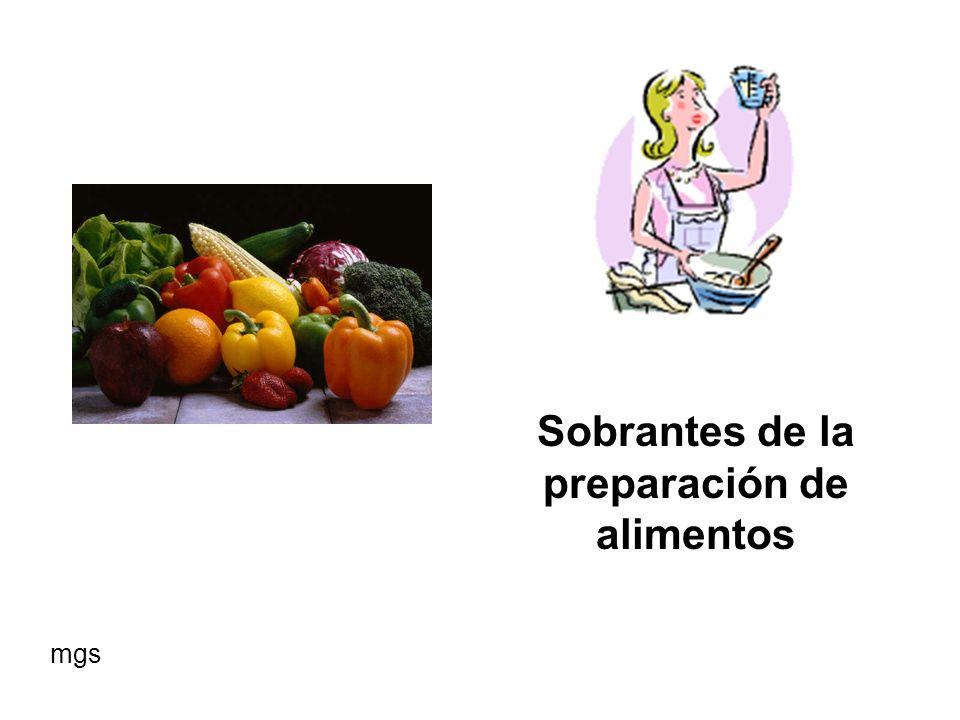BACTERIAS Las bacterias actúan sobre los residuos comiéndolos, digiriéndolos o rompiéndolos en formas más simples para que otras bacterias u organismos los consuman mgs