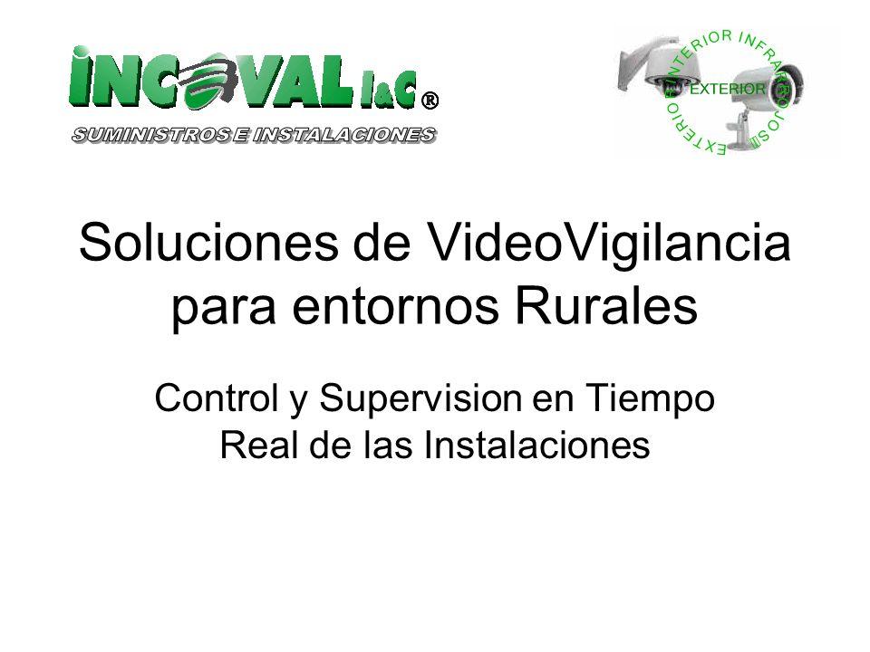 Soluciones de VideoVigilancia para entornos Rurales Control y Supervision en Tiempo Real de las Instalaciones