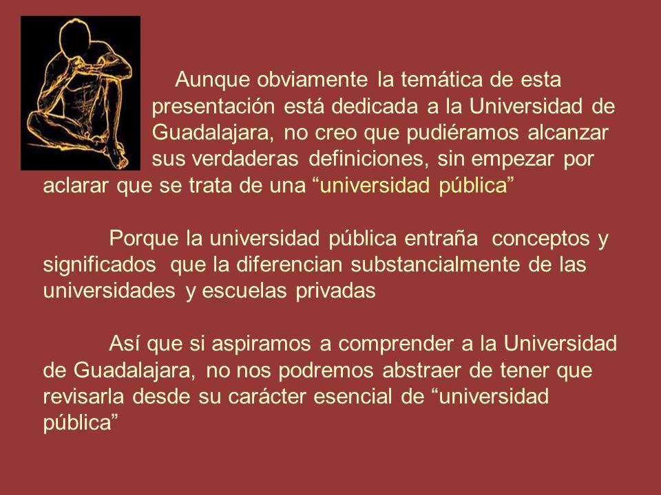 La Universidad Pública