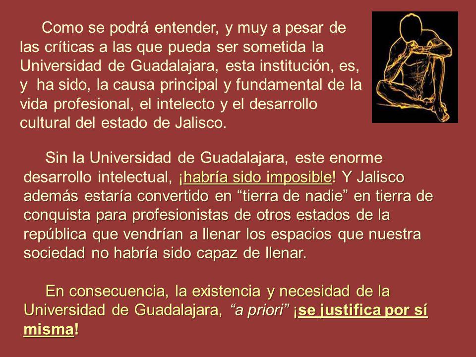 ¿Se imaginan lo que sucedería si de repente desaparecieran de Guadalajara el 86% de los médicos que existen.