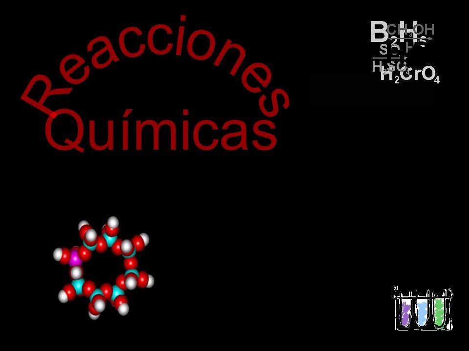 Una o más sustancias (reactivos) se transforman en otras (productos).