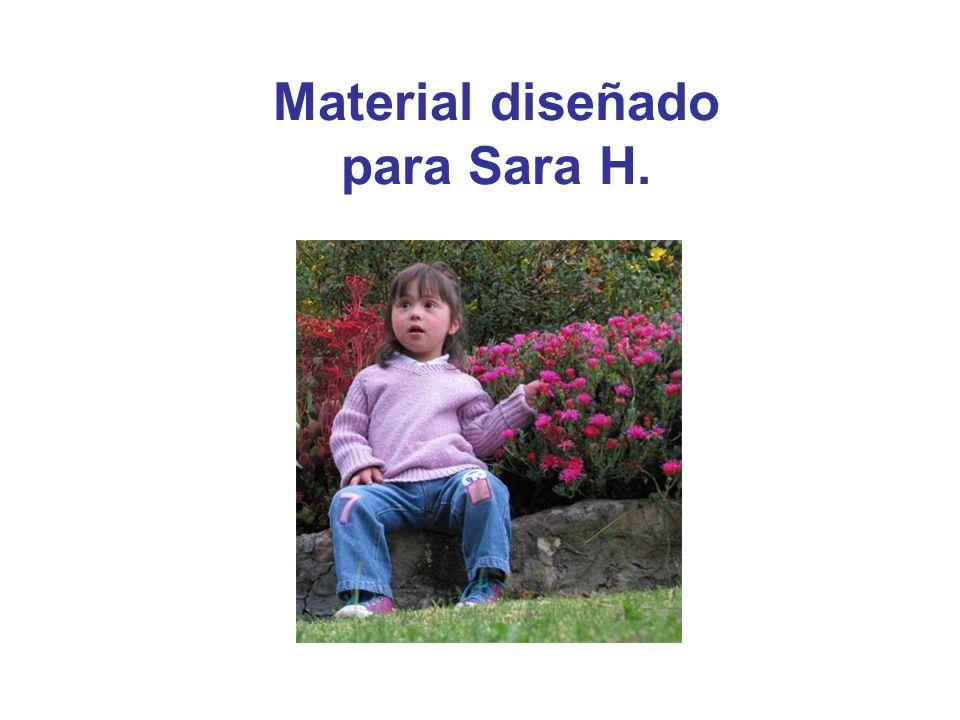 Material diseñado para Sara H.
