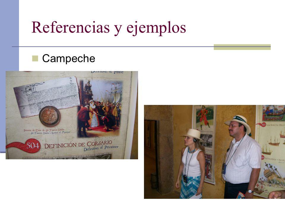 Referencias y ejemplos Campeche