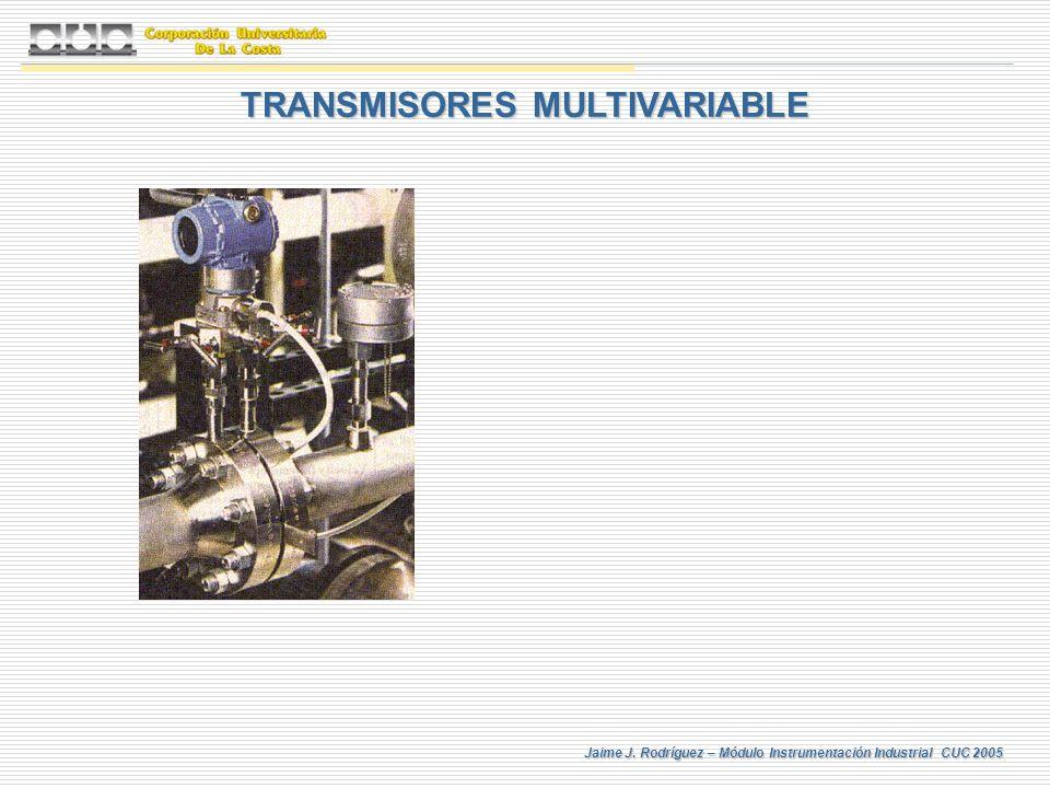 Jaime J. Rodríguez – Módulo Instrumentación Industrial CUC 2005 TRANSMISORES MULTIVARIABLE