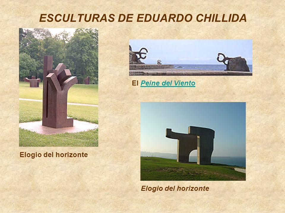 ESCULTURAS DE EDUARDO CHILLIDA El Peine del VientoPeine del Viento Elogio del horizonte
