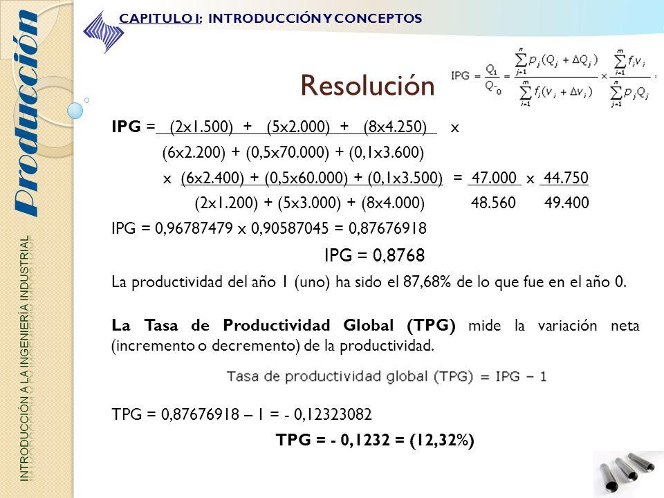 IPG = (2x1.500) + (5x2.000) + (8x4.250) x (6x2.200) + (0,5x70.000) + (0,1x3.600) x (6x2.400) + (0,5x60.000) + (0,1x3.500) = 47.000 x 44.750 (2x1.200)