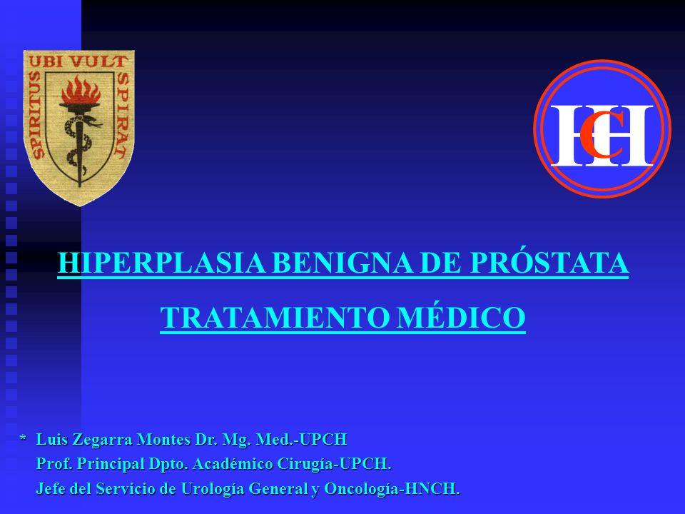 HIPERPLASIA BENIGNA DE PRÓSTATA TRATAMIENTO MÉDICO * Bixa Orellana (Achiote) en Pacientes con STUB asociados a HBP Conclusión: los pacientes que presentan STUB asociados a HBP y son tratados con Bixa Orellana muestran HBP y son tratados con Bixa Orellana muestran un efecto Placebo.