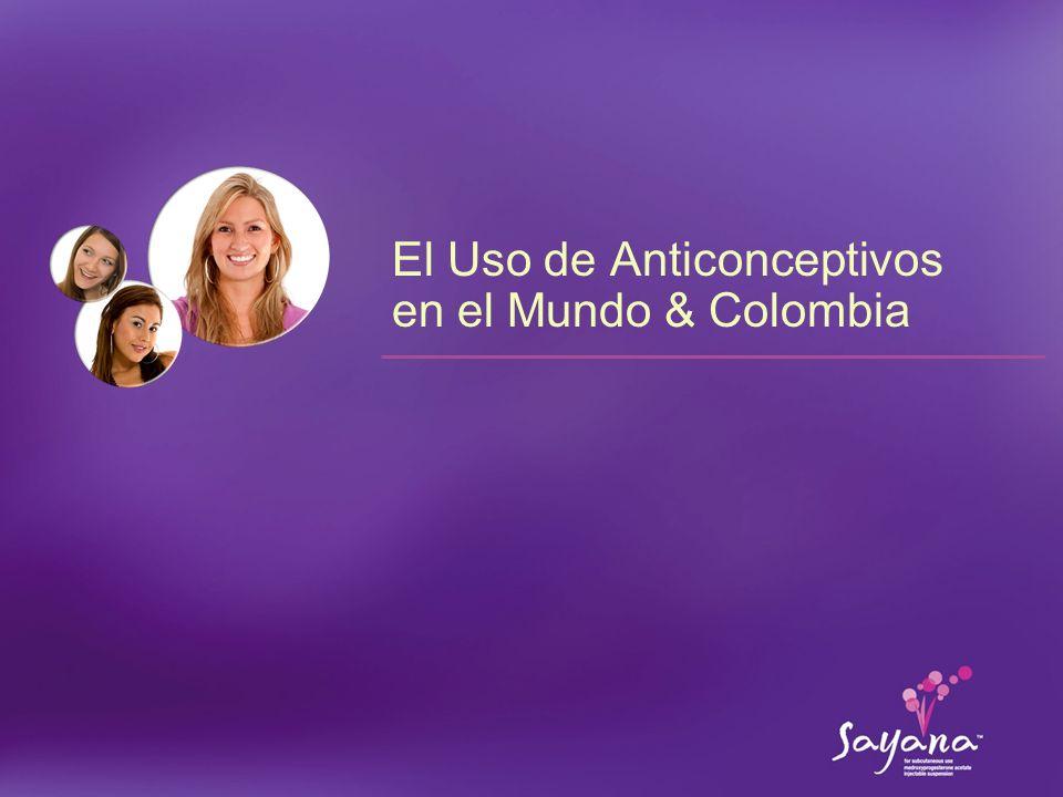 15 Mercado de los Anticonceptivos en el Mundo En el mundo existe una variedad de productos anticonceptivos disponibles 1.Organización Mundial de la Salud.