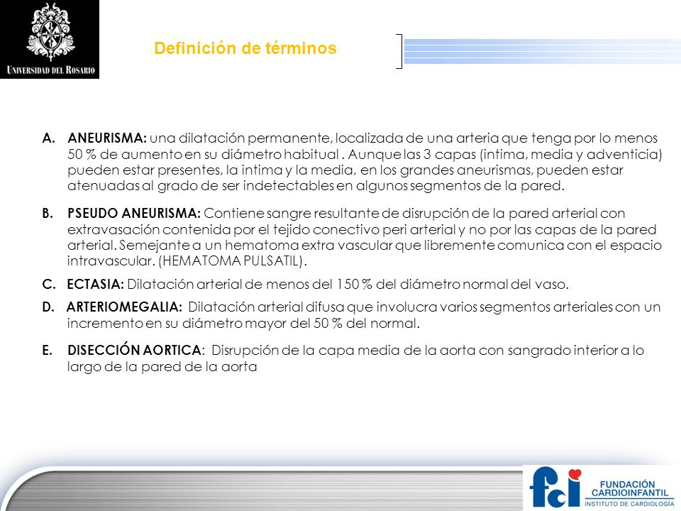 LOGO DISECCION AORTICA COMPROMISO CARDIACO (1) 1.