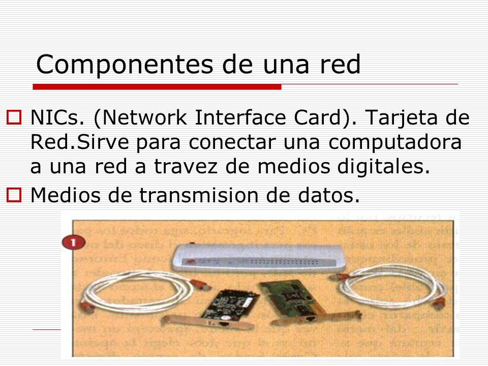 Componentes de una red Gateways. Son equipos que sirven de intermediario entre los distintos protocolos de comunicaciones para facilitar la interconex