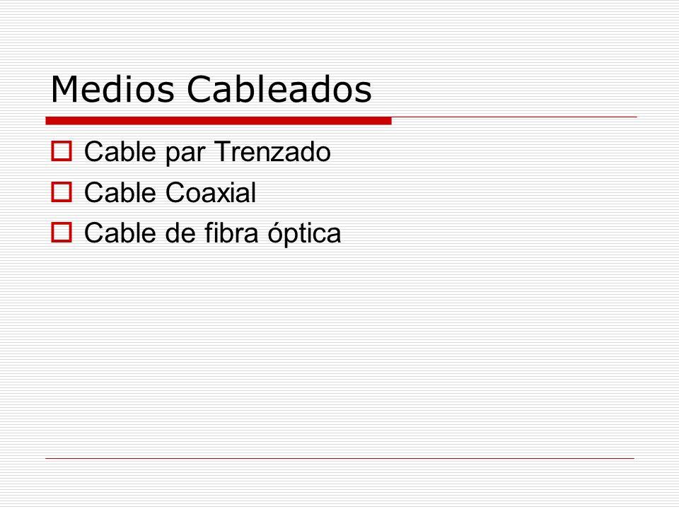 Transmision de datos en red La transmisión de datos en una red puede ser a través de medios: Wired (Cableado) Wireless (inalámbrico)