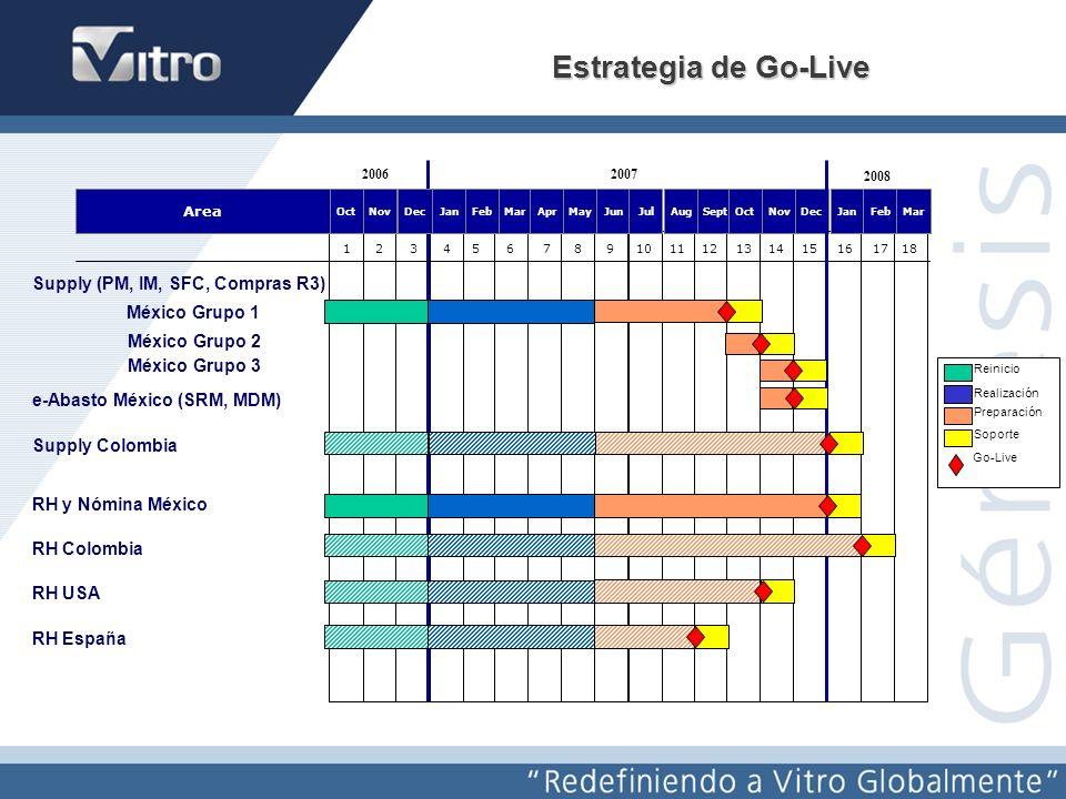 Redefiniendo a Vitro Globalmente Génesis Grupos a nivel de empresas