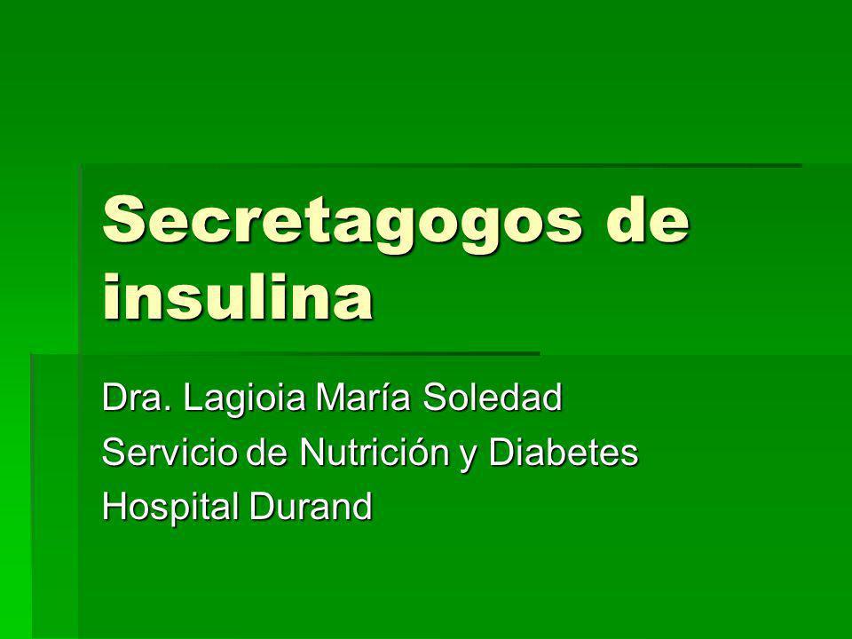 Secretagogos de insulina Dra.