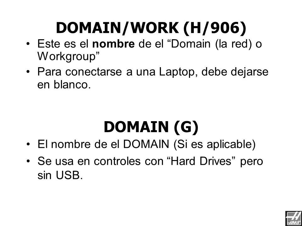 DNS/DHCP (F/905) Este es la dirección IP de el Servidor DNS. Para conectarse a una Laptop, debe dejarse en blanco. GATEWAY (E/904) Esta el la direcció