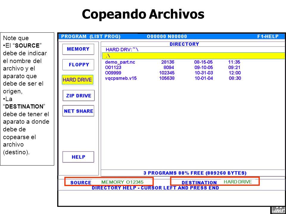 El control con un Hard Drive, tendrá la pantalla Device Manager nueva en vez de la lista de programas. Nota que hay dos secciones. En la izquierda est