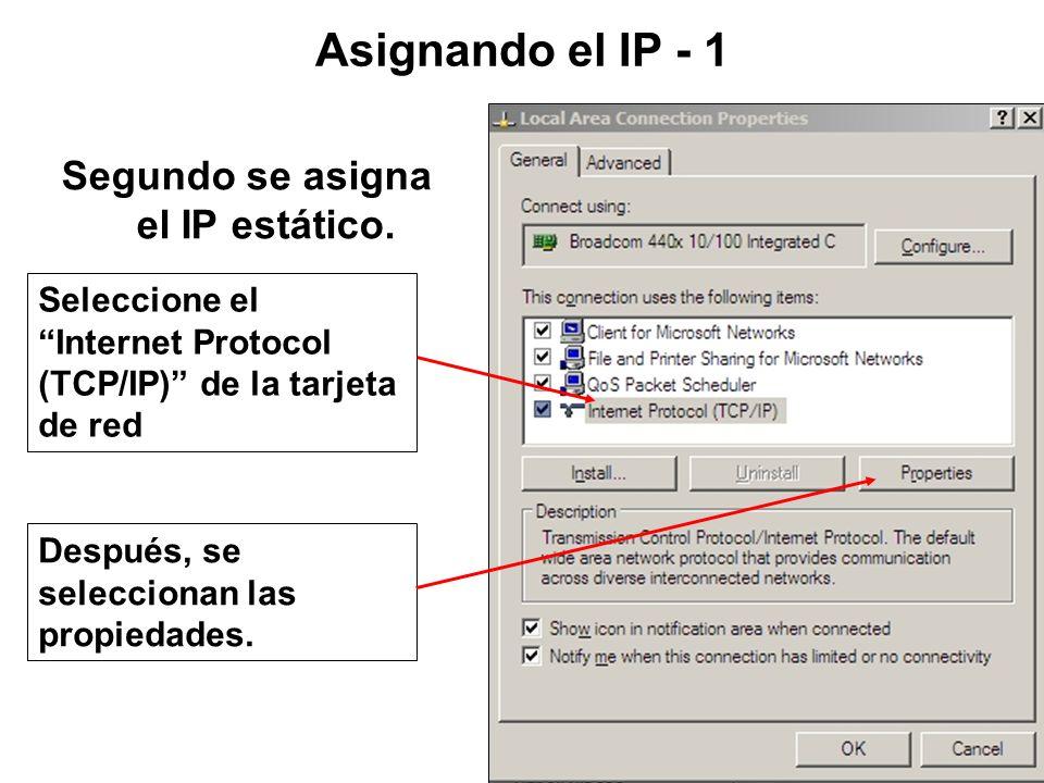 También, asegúrese de que File and Print Sharing esta seleccionada. Firewall 4