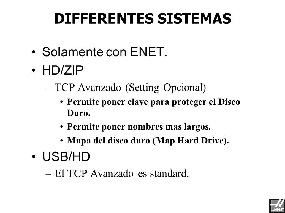Dos Tipos de Cables El CNC debe de conectarse a un HUB con un cable Standard (pc to hub cable). Para conectarlo directamente a una laptop (sin hub), s