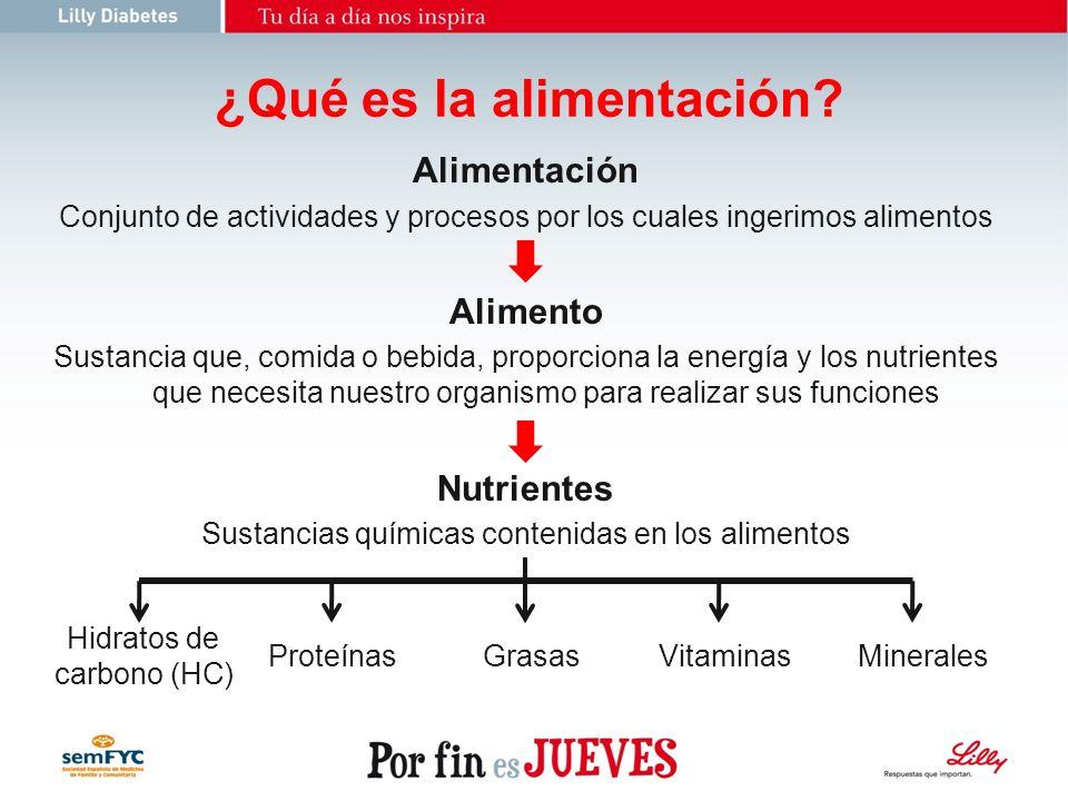 Grupos de Alimentos Según la Guía de alimentación saludable: 1.