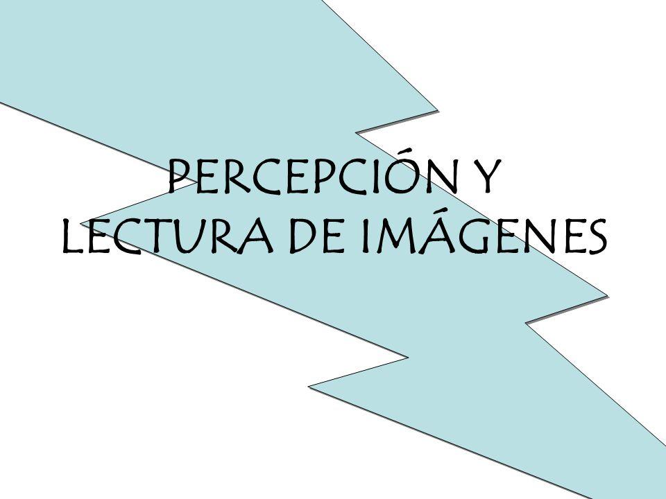 PERCEPCIÓN Y LECTURA DE IMÁGENES