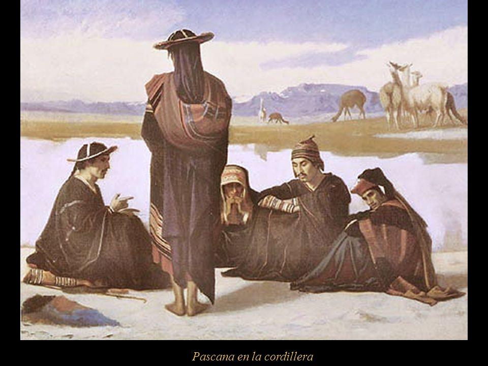 La pascana Considerado como uno de los primeros pintores costumbristas y peruanistas, en su homenaje, la Escuela de Bellas Artes de Tacna lleva su nom