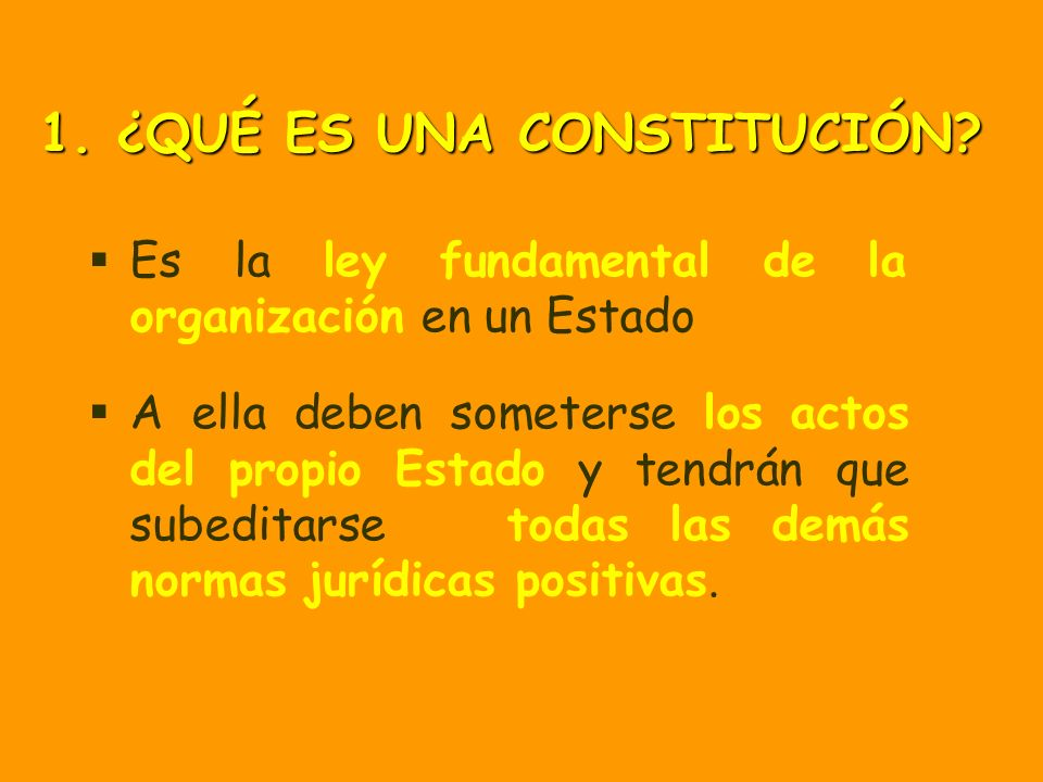 Art 1.3.: La forma política del Estado español es la MONARQUÍA PARLAMENTARIA 2.
