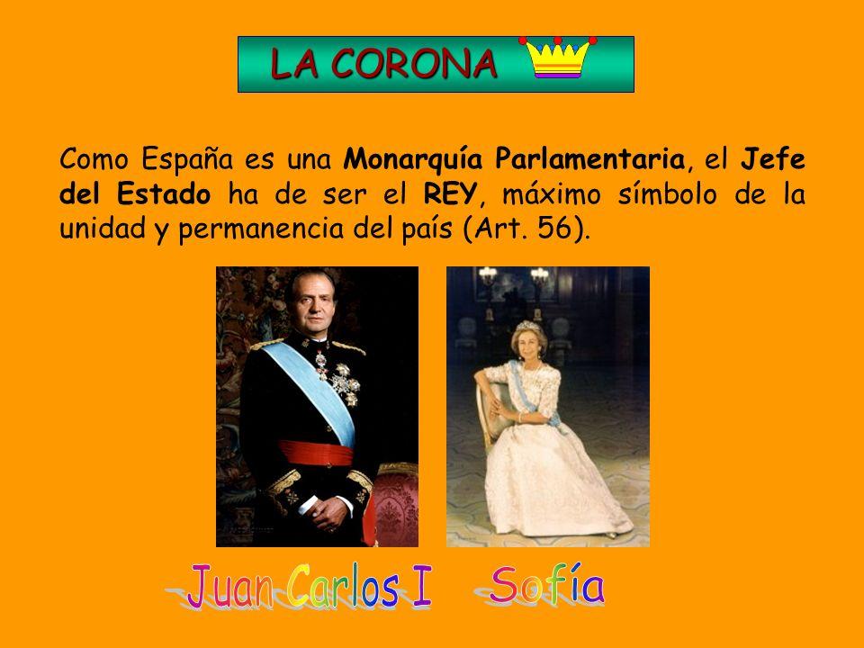 Título II:De la Corona 2. LA CONSTITUCIÓN DE 1978