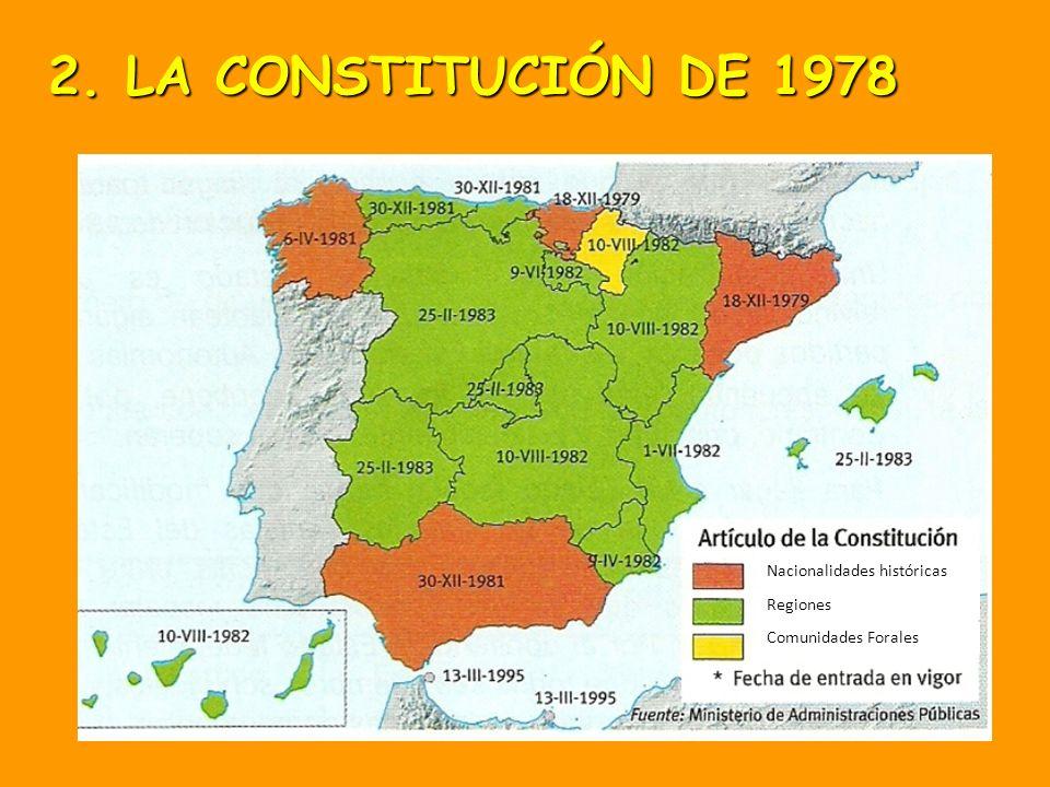 En el ejercicio del derecho a la autonomía reconocido en el artículo 2 de la Constitución, las provincias limítrofes con características históricas, c