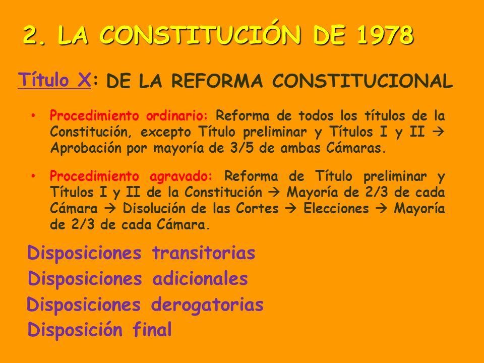 Título IX: EL TRIBUNAL CONSTITUCIONAL El Tribunal Constitucional es el garante del cumplimiento de la Constitución. Aborda los recursos de inconstituc