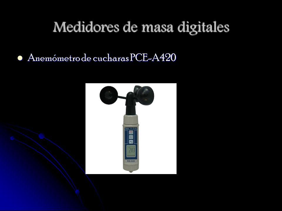 Medidores de masa digitales Anemómetro de cucharas PCE-A420 Anemómetro de cucharas PCE-A420