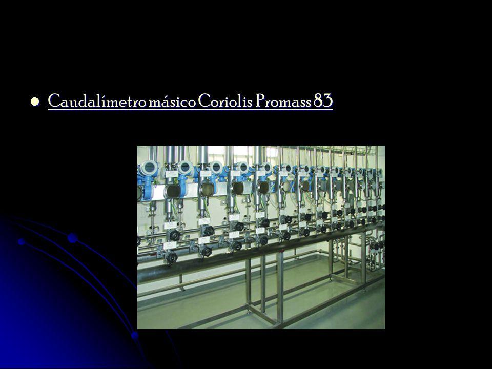 Caudalímetro másico Coriolis Promass 83 Caudalímetro másico Coriolis Promass 83 Caudalímetro másico Coriolis Promass 83 Caudalímetro másico Coriolis P