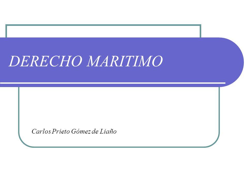 DERECHO MARITIMO Carlos Prieto Gómez de Liaño