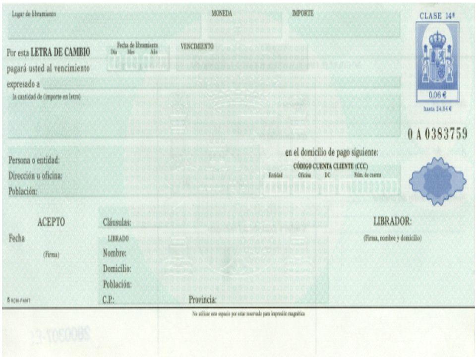 AVALISTAS Es la persona que garantiza el pago de la letra.