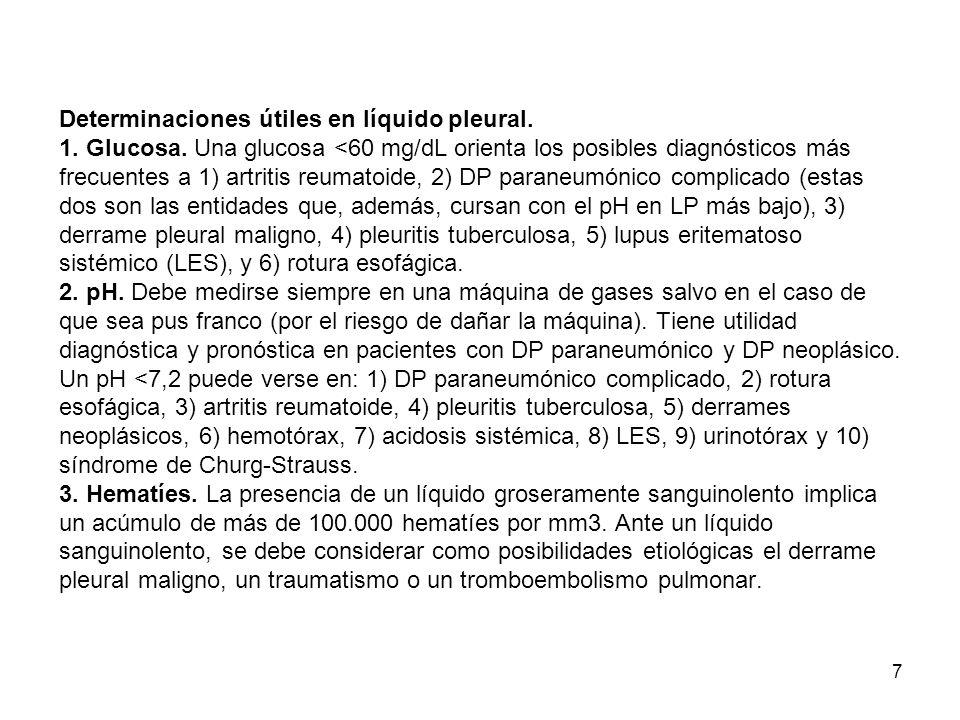 18 D) Hemotórax.