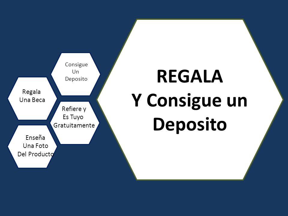 REGALA Y Consigue un Deposito Regala Una Beca Consigue Un Deposito Refiere y Es Tuyo Gratuitamente Enseña Una Foto Del Producto